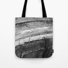 Barrels In Black & White Tote Bag