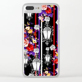 Darkness of the night Clear iPhone Case