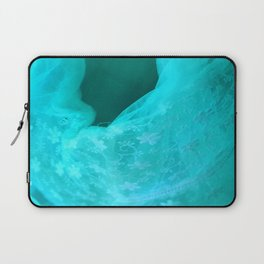 ghost in the swimming pool: aquagreen variations Laptop Sleeve