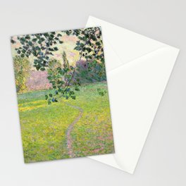 "Claude Monet ""Paysage de matin"" (1888) Stationery Cards"