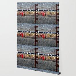 LOVE LOCKED - GOLDEN GATE BRIDGE Wallpaper