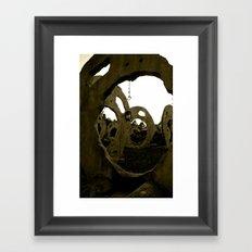 Screaming Lantern Framed Art Print