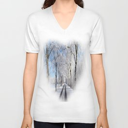 Winter-avenue Unisex V-Neck