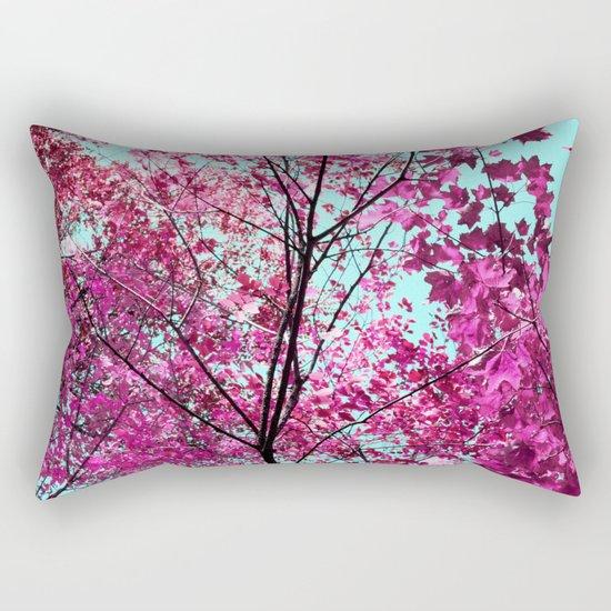 Autumn Pink Rectangular Pillow
