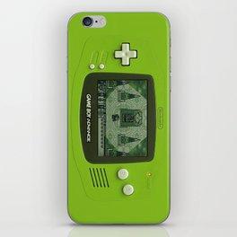 Gameboy Zelda Link iPhone Skin