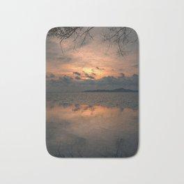 Sunset on the Gulf of Thailand Bath Mat