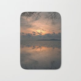 Sunset on the Gulf of Thailand Bath Mat