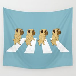 Puggy Road Wall Tapestry