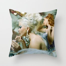 Las Vegas Showgirls 1960 Throw Pillow