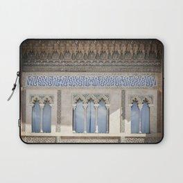 Window Detail at Royal Alcazar of Seville Laptop Sleeve