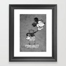 headless mouse Framed Art Print