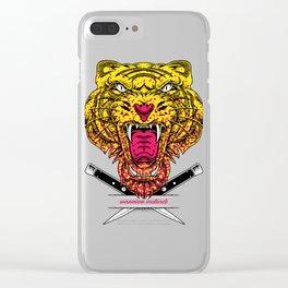 Warrior Instinct Clear iPhone Case