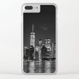 Downtown Manhattan Staten Island Ferry Clear iPhone Case