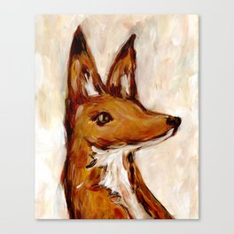 A Fox Named Horatio Canvas Print