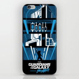 Guardians of the Galaxy - Mission: BREAKOUT! Poster iPhone Skin