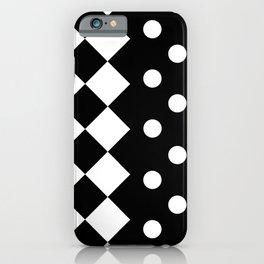 INDOORS (BLACK-WHITE) iPhone Case