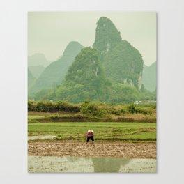 Karst Away Canvas Print