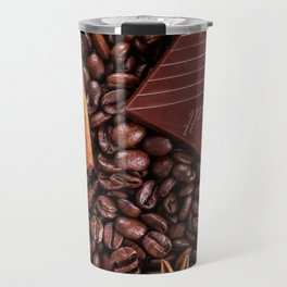 coffee, chocolate and cinnamon Travel Mug