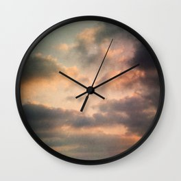 Dreamy Clouds Wall Clock