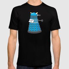 Exterminate Me Variant (Dr Who) Mens Fitted Tee Black LARGE