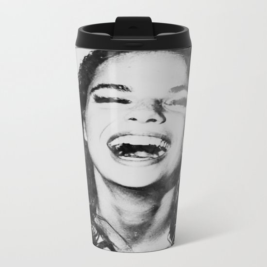 LaUghinG gIrL Metal Travel Mug