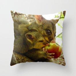 Possum & Bub Apple Share Throw Pillow
