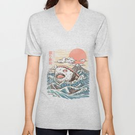 Sharkiri Sushi Unisex V-Neck