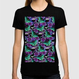 Luna Moth Pattern T-shirt