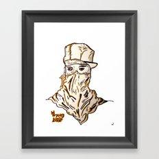 Thug  Framed Art Print