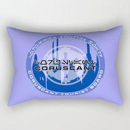 Coruscant Tourist Board Rectangular Pillow