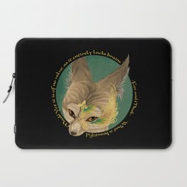 fox and mask  Laptop Sleeve