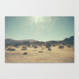 Wishing you were an endless sky Canvas Print