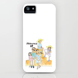 K + R Fam iPhone Case