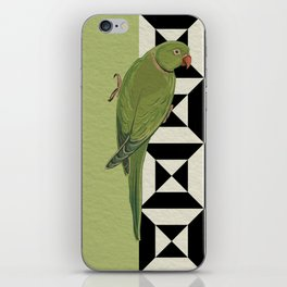 Parrot Checkers iPhone Skin