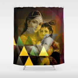 Yashoda's kanha Shower Curtain