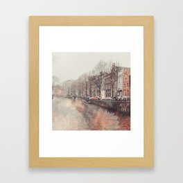 Flowers in Amsterdam ll Framed Art Print