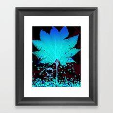 Raining Leaves Framed Art Print
