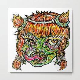 Zomberina Metal Print