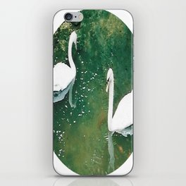 Two Swans iPhone Skin