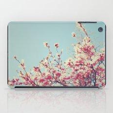 Retro Blossoms iPad Case