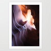 antelope canyon i Art Print