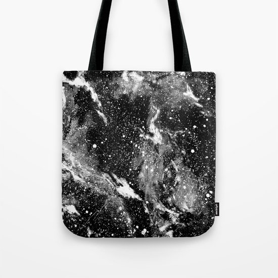 Galaxy (B/W) Tote Bag