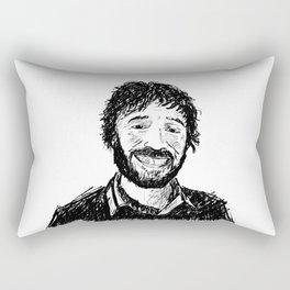 Questo Questo Ernesto Rectangular Pillow