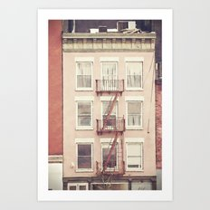 in my dreams we live here. Art Print