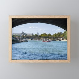 View from under the Pont Royal - Paris Framed Mini Art Print