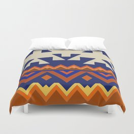 Aztec Folk Art Duvet Cover