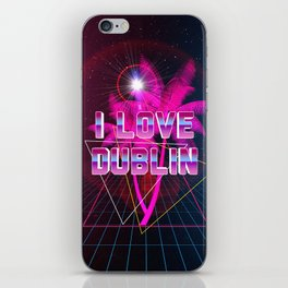 I Love Dublin iPhone Skin