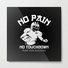 Football Gifts Metal Print