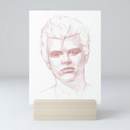 Billy Idol Mini Art Print