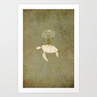 alchemy Art Prints featuring Alchemy by Michaela Stavova